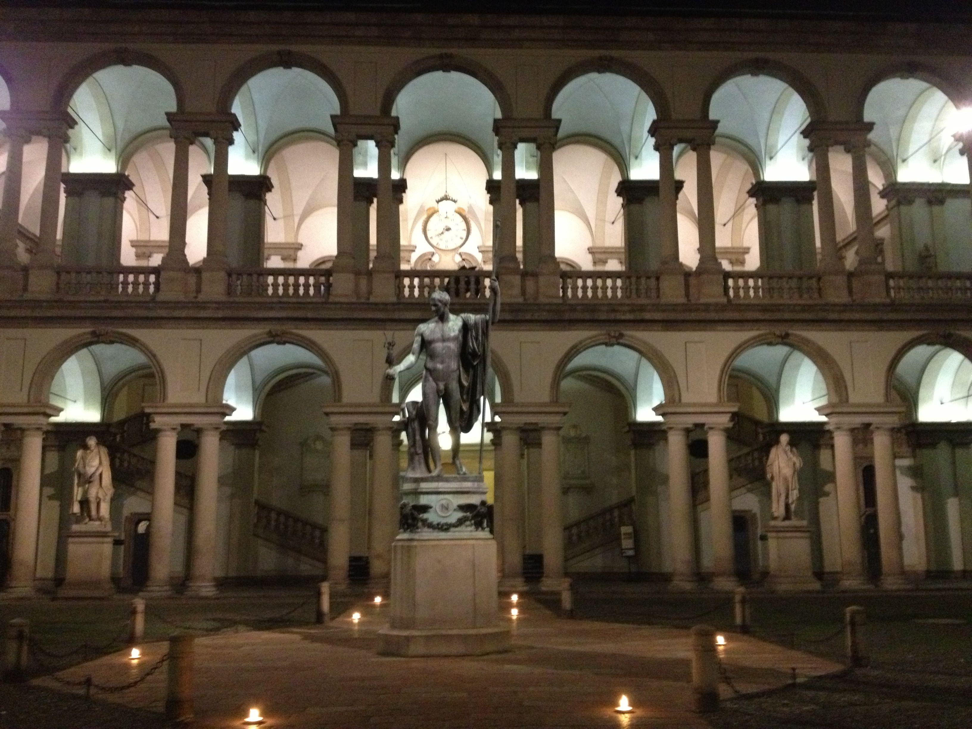 Chiodelli arte at pinacoteca di brera for Accademia di milano