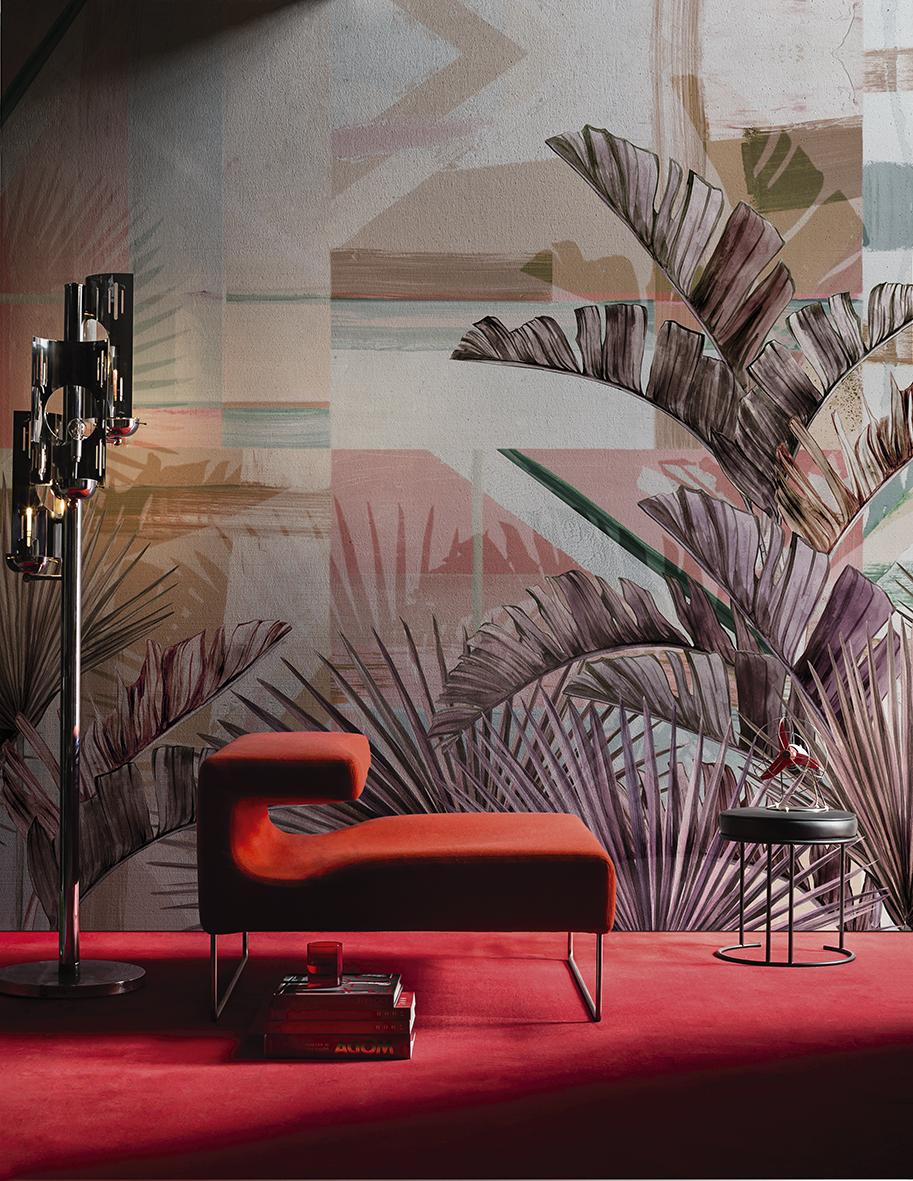 La wallpaper machine di wall dec nel nuovo showroom di for Wall and deco showroom milano