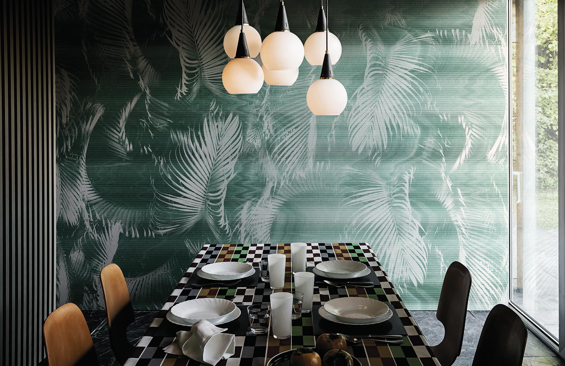 la wallpaper machine di wall dec nel nuovo showroom di. Black Bedroom Furniture Sets. Home Design Ideas