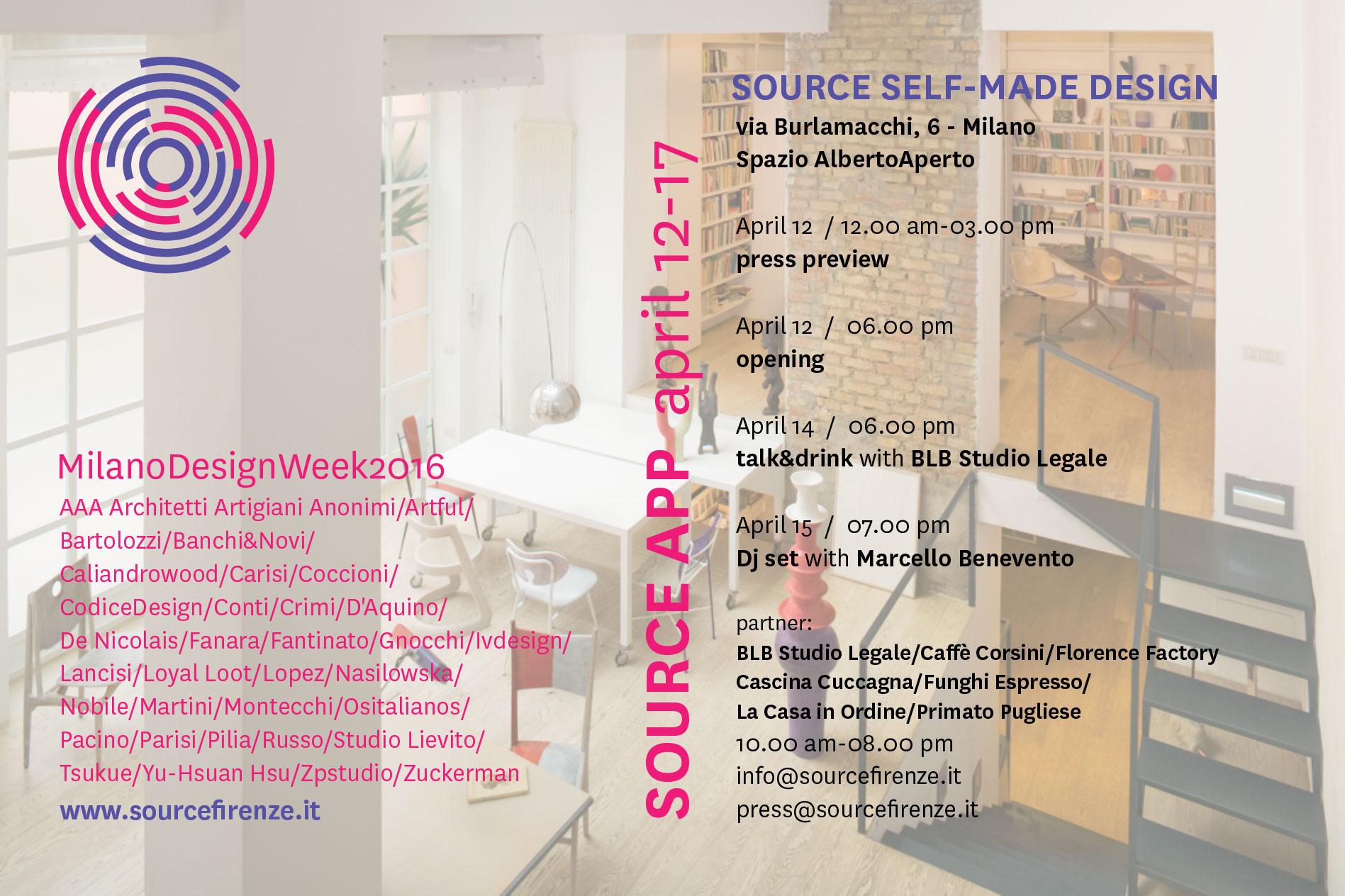 Source Self Made Design Source App