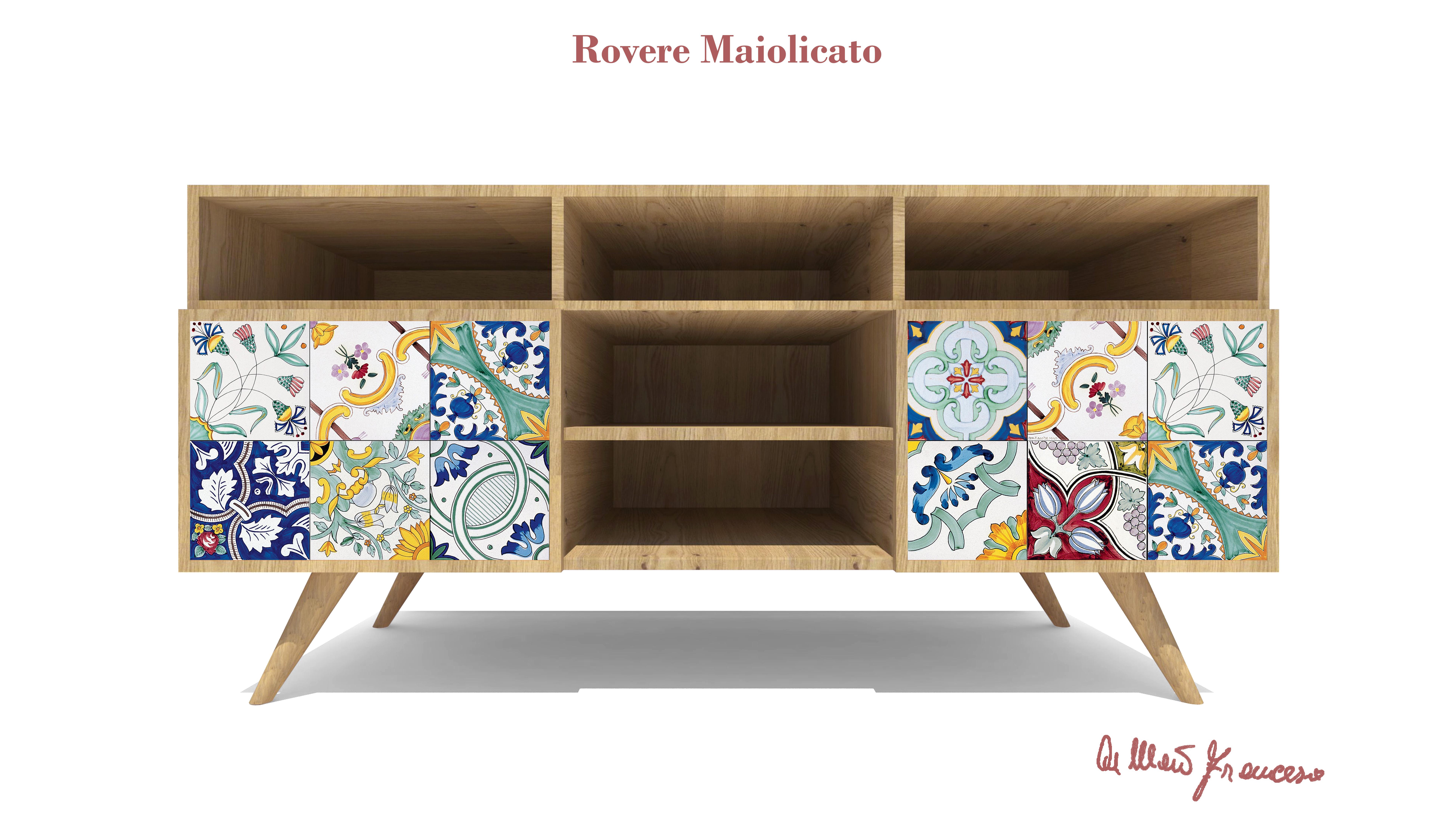 Rovere maiolicato quando la ceramica diventa design for Mobili italiani design