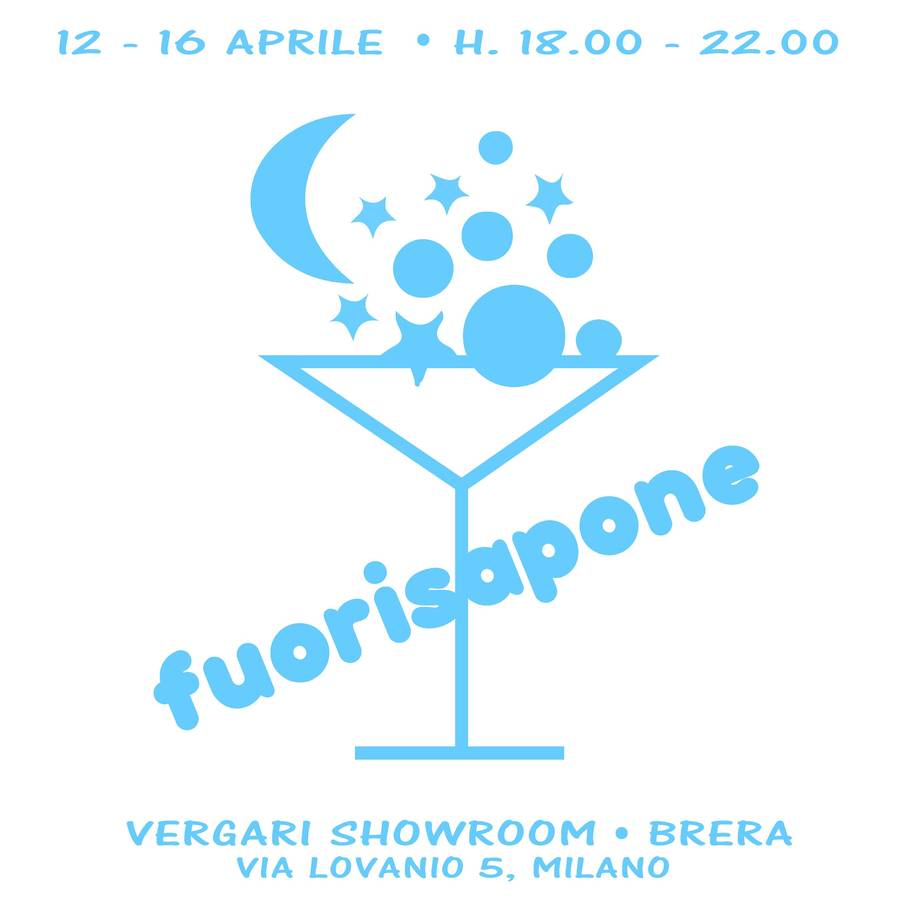 Fuorisapone Vergari Showroom Fuorisaloneit Brera New Small Circle Blue