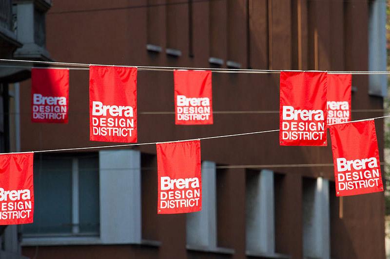 Brera design district itinerary for Brera district