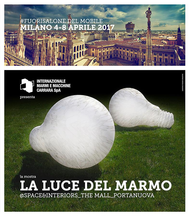 La luce del marmo for Eventi milano aprile 2017