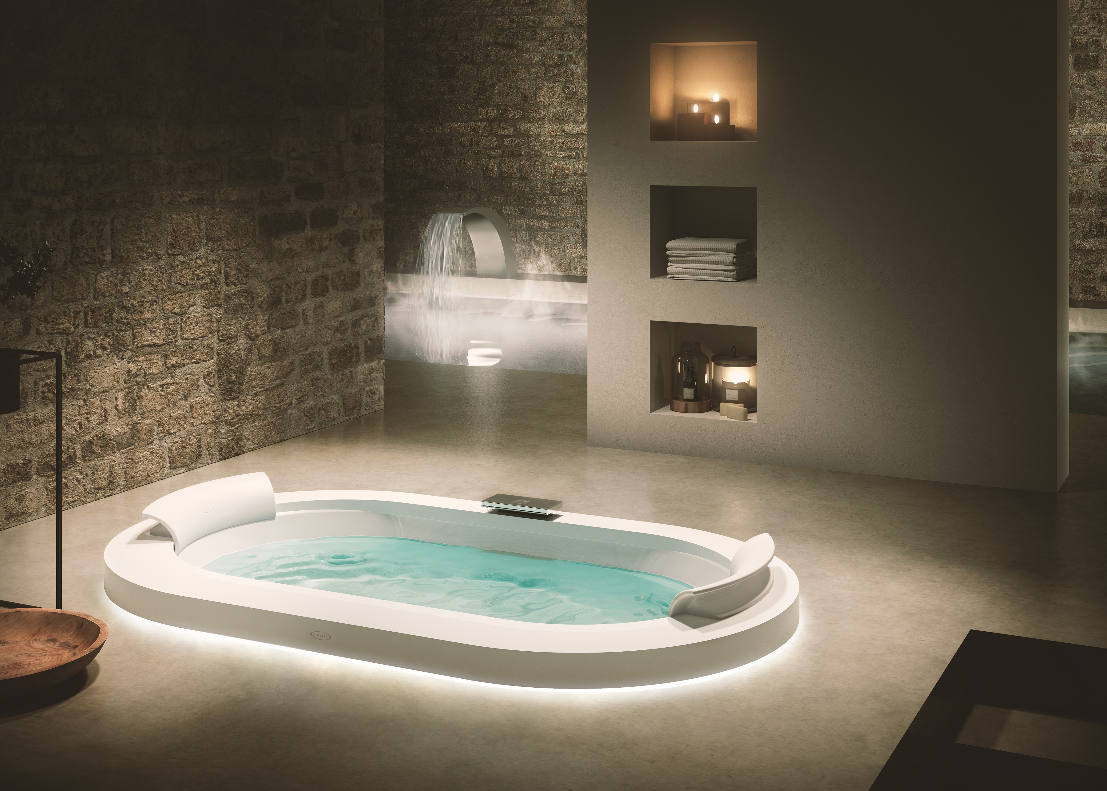 THERMAL H2O - JACUZZI HYDROTHERAPY MEETS THERMAL WATERS | Fuorisalone.it