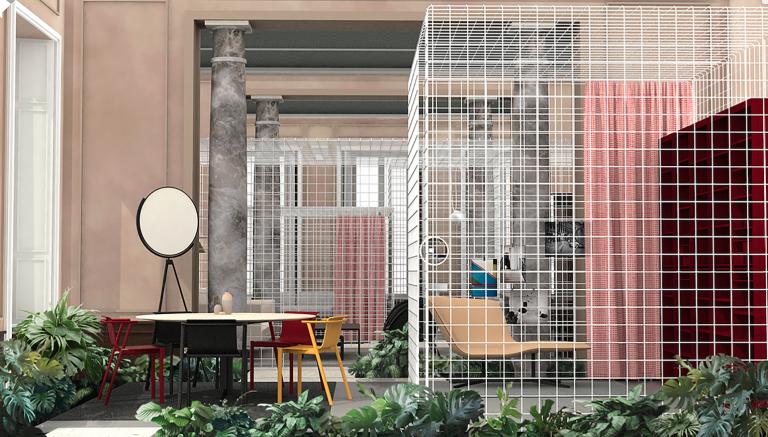 Elle decor italia concept store for Store design milano
