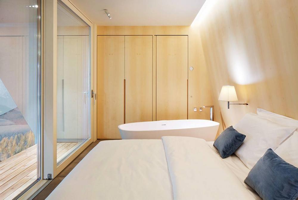 Eden luxury portable suite by michele perlini for Suite modulare suocera